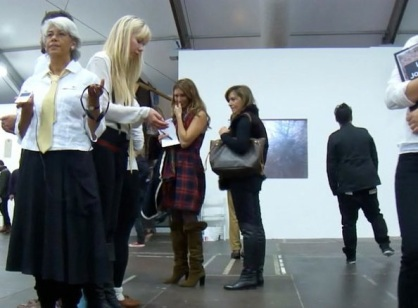 at the Frieze 2010