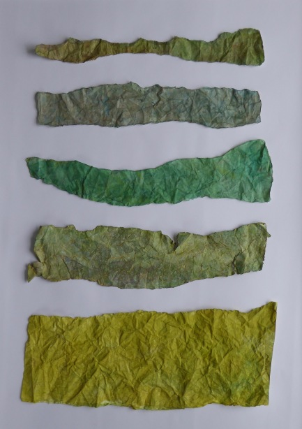 Ridgeway. Paper collage. 90cm x 70cm – Version 5